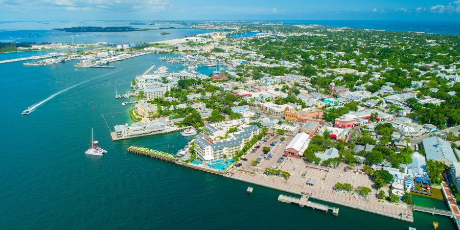 Veduta di Key West